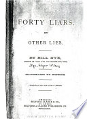 Forty Liars and Other Lies Book PDF