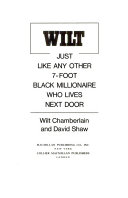 Wilt  Just Like Any Other 7 Foot Black Millionaire who Lives Next Door