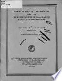 Aircraft Fire Extinguishment
