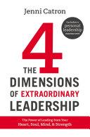 The Four Dimensions of Extraordinary Leadership [Pdf/ePub] eBook