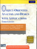 Object Oriented Analysis And Design With Applications  3 E Book