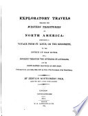 Exploratory Travels Through the Western Territories of North America Book PDF