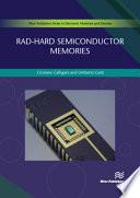 Rad-hard Semiconductor Memories