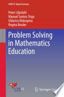 Problem Solving in Mathematics Education