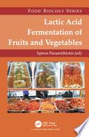 Lactic Acid Fermentation of Fruits and Vegetables Book