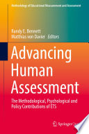Advancing Human Assessment Book Cover
