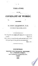 A Treatise on the Covenant of Works