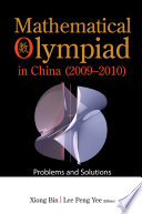 Mathematical Olympiad In China  2009 2010   Problems And Solutions
