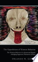 The Opprobrium of Wanton Behavior