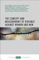 Pdf The concept and measurement of violence