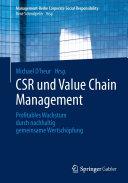 CSR und Value Chain Management: Profitables Wachstum durch ...
