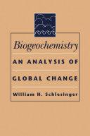 Biogeochemistry Pdf/ePub eBook