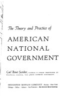 The Theory and Practice of American National Government