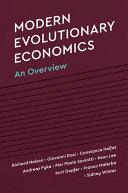 Modern Evolutionary Economics