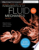 Munson, Young and Okiishi's Fundamentals of Fluid Mechanics, 8th Edition WileyPLUS NextGen Card with Abridged Loose-Leaf Print Companion Set