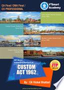 CA-Final Custom Act 1962