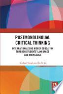 Postmonolingual Critical Thinking