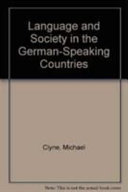 Language and Society in the German-Speaking Countries