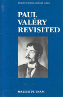 Paul Val  ry Revisited Book
