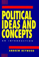 Political Ideas and Concepts