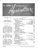The Journal Of The Department Of Agriculture Of Victoria