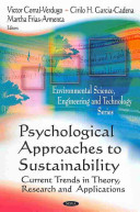 Psychological Approaches to Sustainability