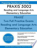 Praxis 5002 Reading and Language Arts Elementary Education