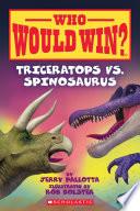 Triceratops vs  Spinosaurus