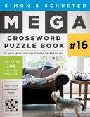 Simon   Schuster Mega Crossword Puzzle Book  16