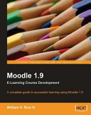Moodle 1 9 E Learning Course Development