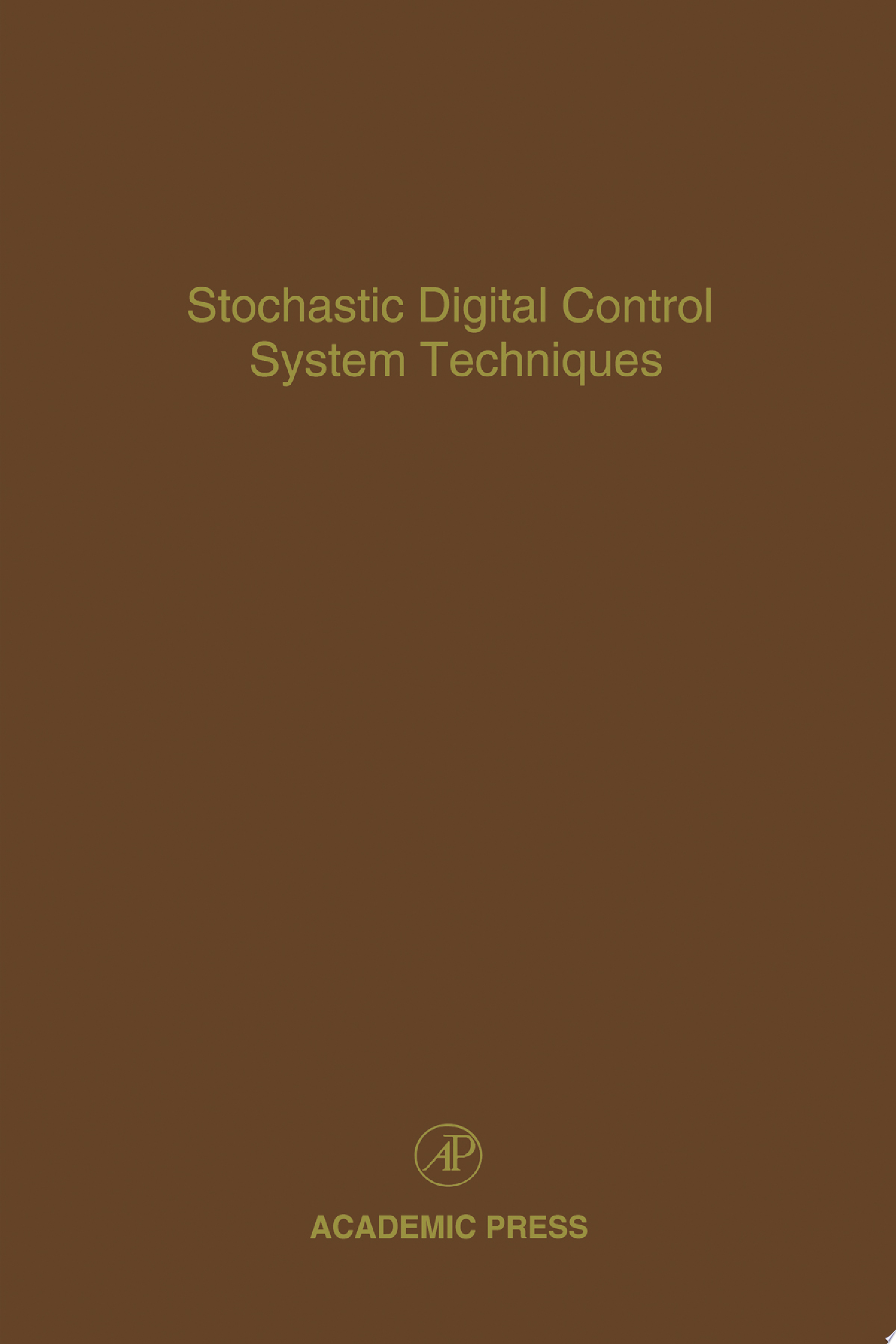 Stochastic Digital Control System Techniques