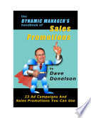 The Dynamic Manager S Handbook Of Sales Promotions
