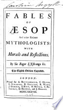 Fables of Aesop and Other Eminent Mythologists