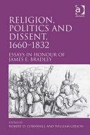 Religion, Politics and Dissent, 1660–1832