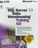 Microsoft SQL Server 7 0 Data Warehousing Training Kit