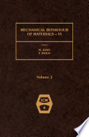 Mechanical Behaviour of Materials   VI Book