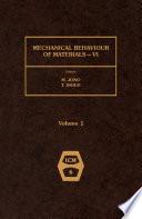 Mechanical Behaviour of Materials - VI