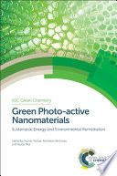 Green Photo active Nanomaterials