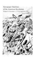 Newspaper Datelines of the American Revolution  November 1  1775 to April 30  1776 Book PDF