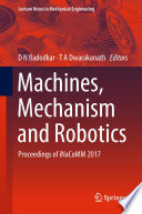 Machines, Mechanism and Robotics
