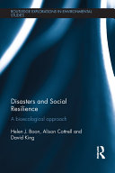 Pdf Disasters and Social Resilience Telecharger