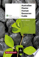 Australian Master Human Resources Guide 2010 Book