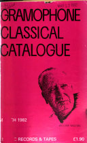 The Gramophone Classical Catalogue