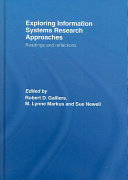 Exploring Information Systems Research Approaches