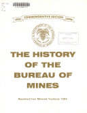 The History of the Bureau of Mines