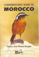 A Birdwatchers  Guide to Morocco
