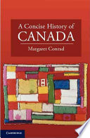 A Concise History of Canada Book