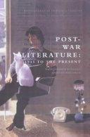 Post war Literature
