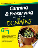 Canning and Preserving All in One For Dummies Book