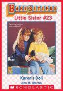 Karen's Doll (Baby-Sitters Little Sister #23)